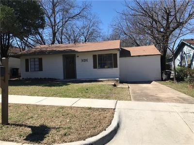 Fort Worth Single Family Home For Sale: 4412 Lubbock Avenue