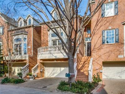 Highland Park, University Park Townhouse For Sale: 4222 Lomo Alto Court