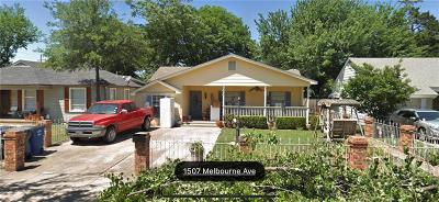 Dallas TX Single Family Home For Sale: $215,000