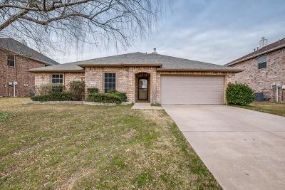 Wylie Single Family Home Active Option Contract: 1912 Duck Walk Way