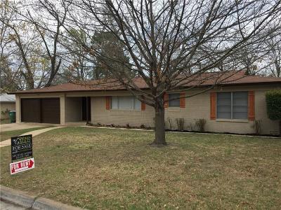 Stephenville Single Family Home For Sale: 2031 Crestridge Street