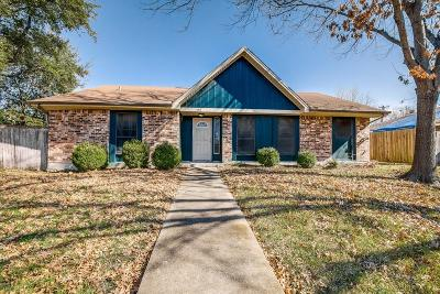 Rowlett Single Family Home Active Option Contract: 5314 Vagas Drive