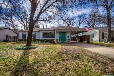 River Oaks Single Family Home For Sale: 5529 Taylor Road