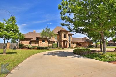 Abilene Single Family Home For Sale: 341 Southwind Circle