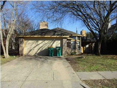 Cedar Hill Single Family Home Active Contingent: 605 Lemons Street