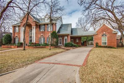Colleyville Single Family Home Active Contingent: 5704 Grand Oak Court