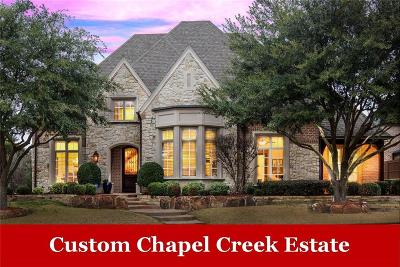 Frisco Single Family Home For Sale: 8412 Stone River Drive