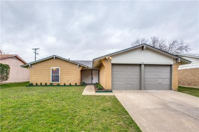 Lake Dallas Single Family Home Active Contingent: 5513 Bishop Court