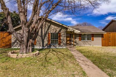 Garland Single Family Home Active Contingent: 3021 Blueridge Lane