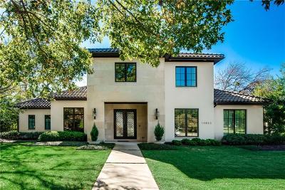 Dallas TX Single Family Home For Sale: $2,199,000