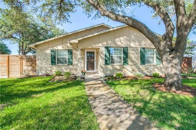 Dallas Single Family Home Active Contingent: 11001 Wallbrook Drive