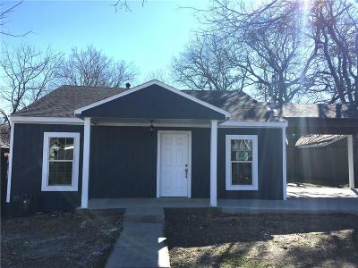 Cedar Hill Single Family Home For Sale: 702 W Hendricks Street