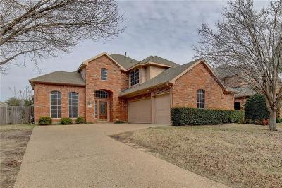 Keller Single Family Home Active Option Contract: 1811 Forest Bend Lane