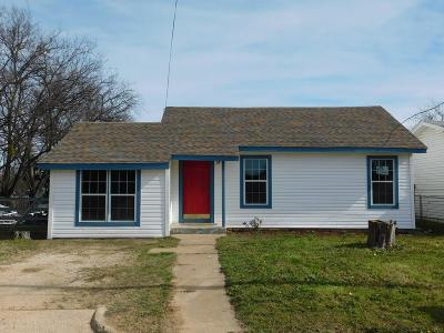 Jack County Single Family Home Active Option Contract: 312 Jack