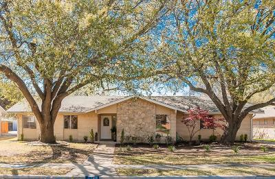 Single Family Home For Sale: 3370 Northaven Road