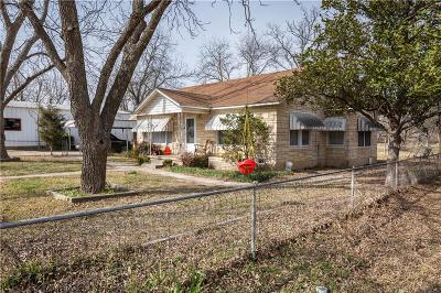 Springtown Single Family Home For Sale: 332 W 1st Street