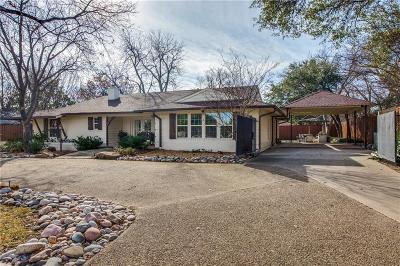 Single Family Home For Sale: 6806 Royal Lane