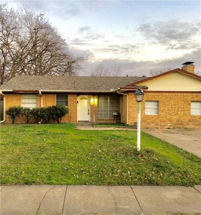 Mesquite Single Family Home For Sale: 2500 Mark Drive