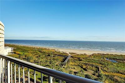 Galveston County Condo Active Option Contract: 1401 E Beach Drive #915