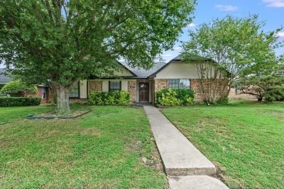 Allen Single Family Home Active Option Contract: 1407 Petunia Drive