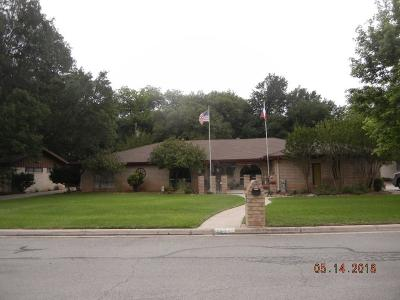 Brownwood Single Family Home For Sale: 2514 Good Shepherd Dr.