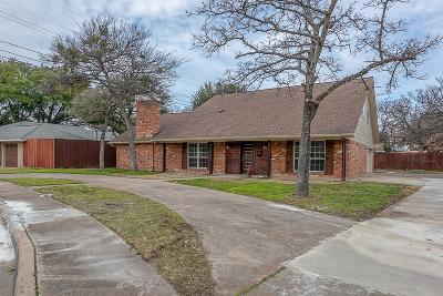Irving Single Family Home Active Contingent: 1944 Valley Oaks Court