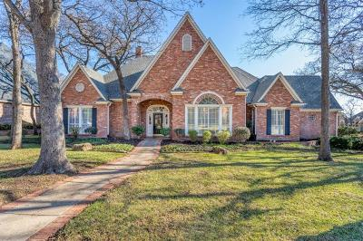 Colleyville Single Family Home Active Option Contract: 5701 Grand Oak Court