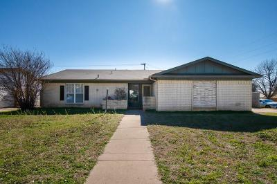 Fort Worth Single Family Home For Sale: 3829 Cibolo Drive