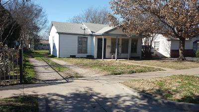 Fort Worth Single Family Home For Sale: 4212 Frazier Avenue