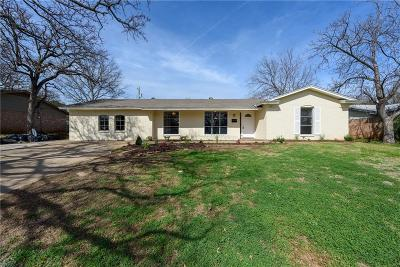 Euless Single Family Home Active Option Contract: 727 Koen Lane