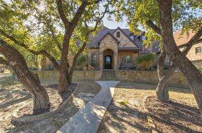 Aledo Single Family Home Active Contingent: 110 Turkey Creek Drive