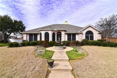 Rowlett Single Family Home Active Option Contract: 4309 Baywatch Drive