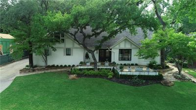 Fort Worth Single Family Home For Sale: 2716 Colonial Parkway