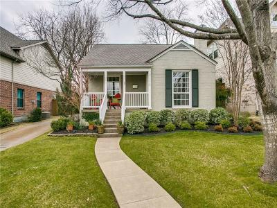 Dallas Single Family Home For Sale: 7118 Coronado Avenue