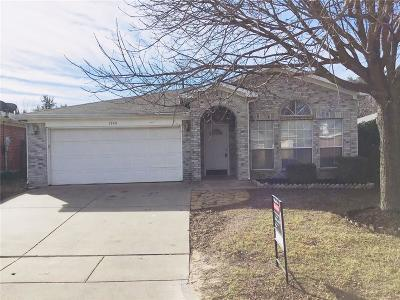 Fort Worth Single Family Home Active Option Contract: 3740 Chaddybrook Lane