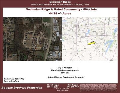 Arlington Residential Lots & Land For Sale: 7300 Seclusion Ridge Drive