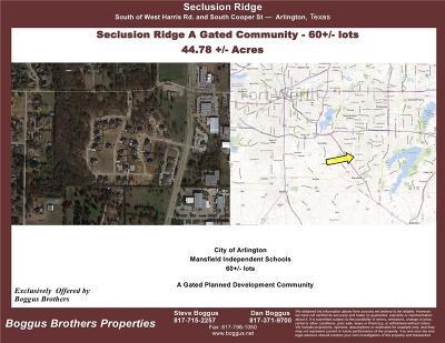 Arlington Residential Lots & Land For Sale: 7309 Hidden Way Court