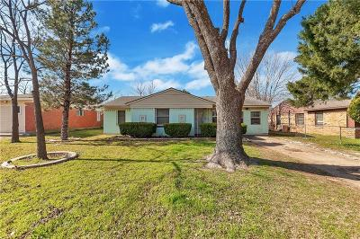 Mesquite Single Family Home For Sale: 4325 Harvey Drive