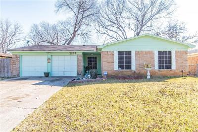 Irving Single Family Home Active Option Contract: 2808 Fairbrook Street