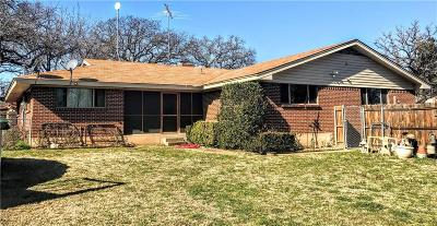 Mineral Wells Single Family Home For Sale: 3205 N Oak Avenue