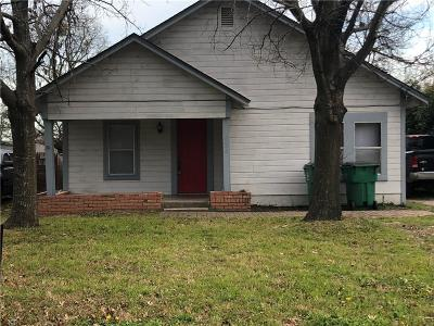 Stephenville Single Family Home For Sale: 1026 W Long Street W