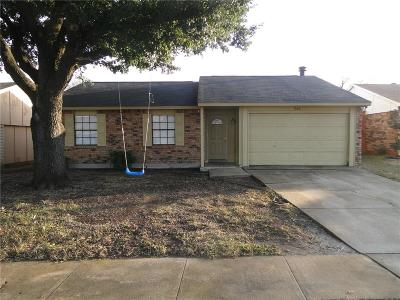 Allen Single Family Home For Sale: 546 Hawthorne Drive
