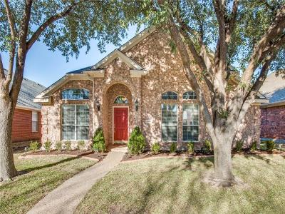 The Colony Single Family Home Active Option Contract: 5516 Green Hollow Lane