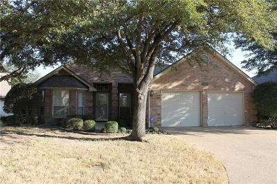 Benbrook Single Family Home Active Option Contract: 5969 River Bend Drive