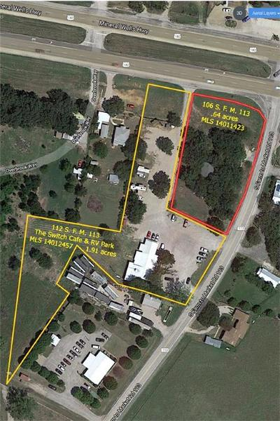Millsap Commercial For Sale: 106 S Fm 113