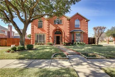 Plano Single Family Home Active Contingent: 3417 Westway Court