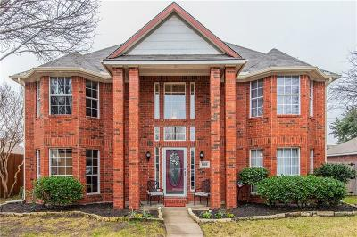 Lewisville Single Family Home For Sale: 1026 Cassion Drive