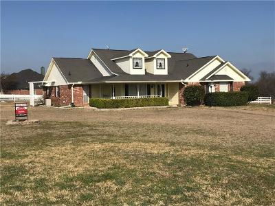 Waxahachie Single Family Home Active Option Contract: 101 Saddle Ridge
