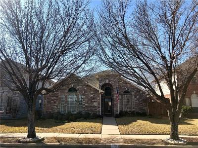 Single Family Home Active Option Contract: 7771 Park Trails Drive