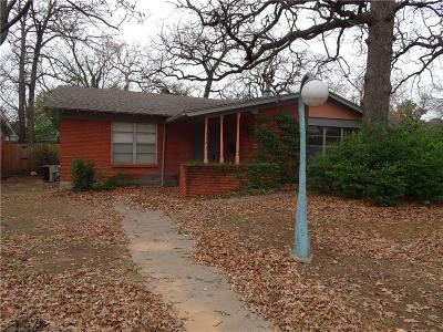 Hurst Single Family Home Active Option Contract: 1141 Hurstview Drive